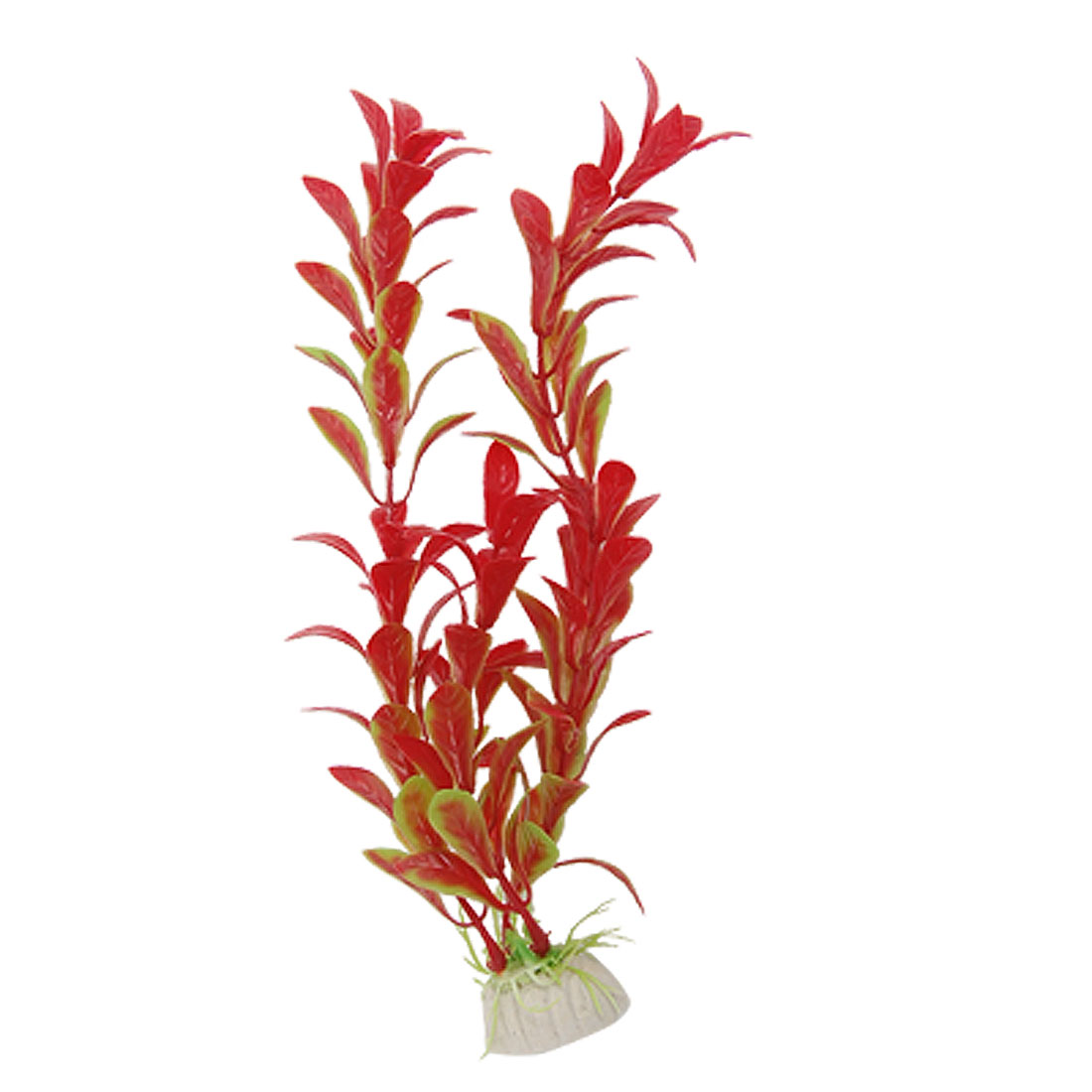 Aquarium Fish Tank Underwater Red Green Plastic Plants