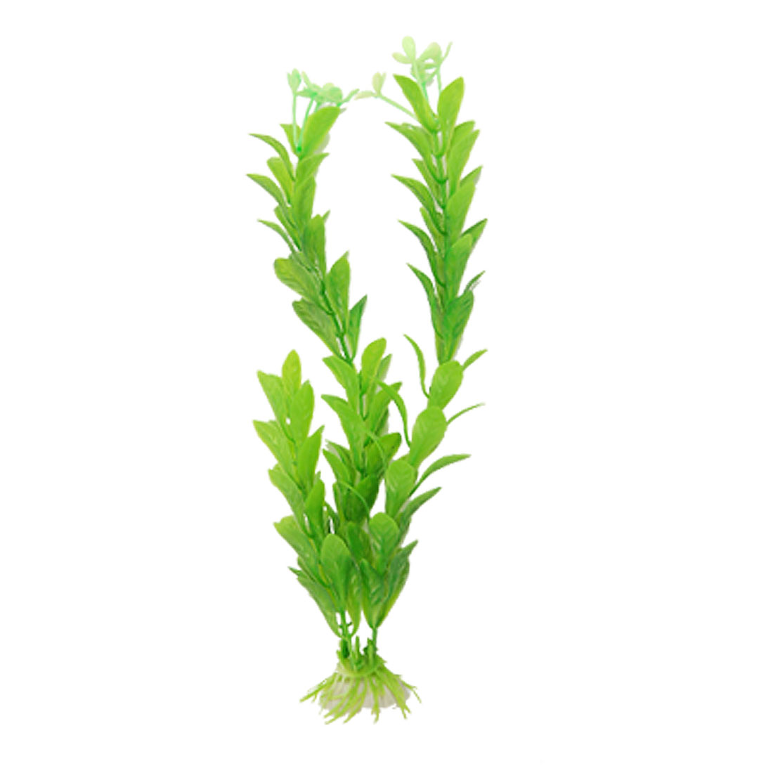 Green Plastic Underwater Plants Aquarium Fish Tank Ornament