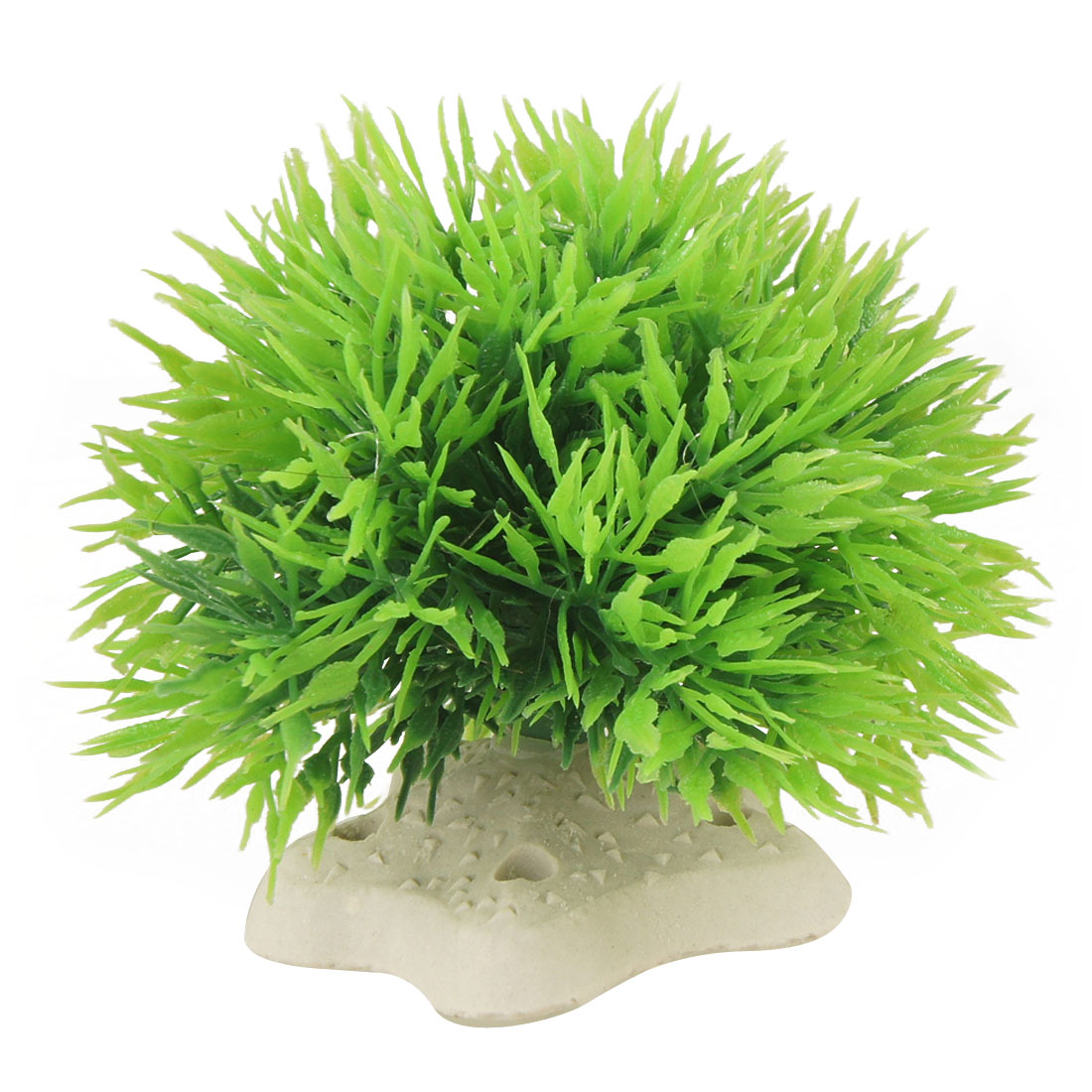 Ball Shape Green Plastic Plants Decoration for Aquarium Fish Tank