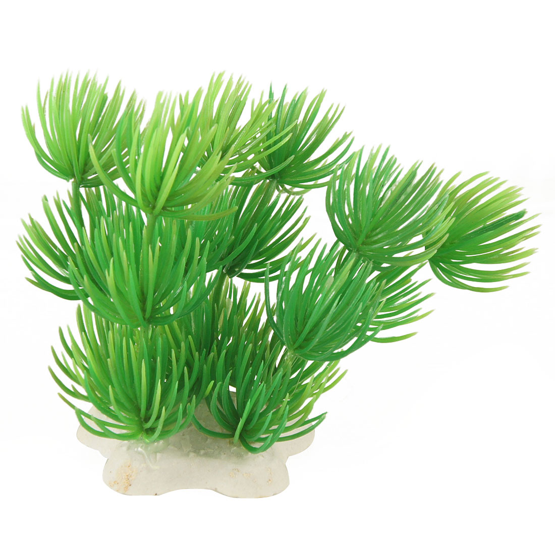 Green Plastic Plants Lanscaping Ornament for Aquarium Fish Tank