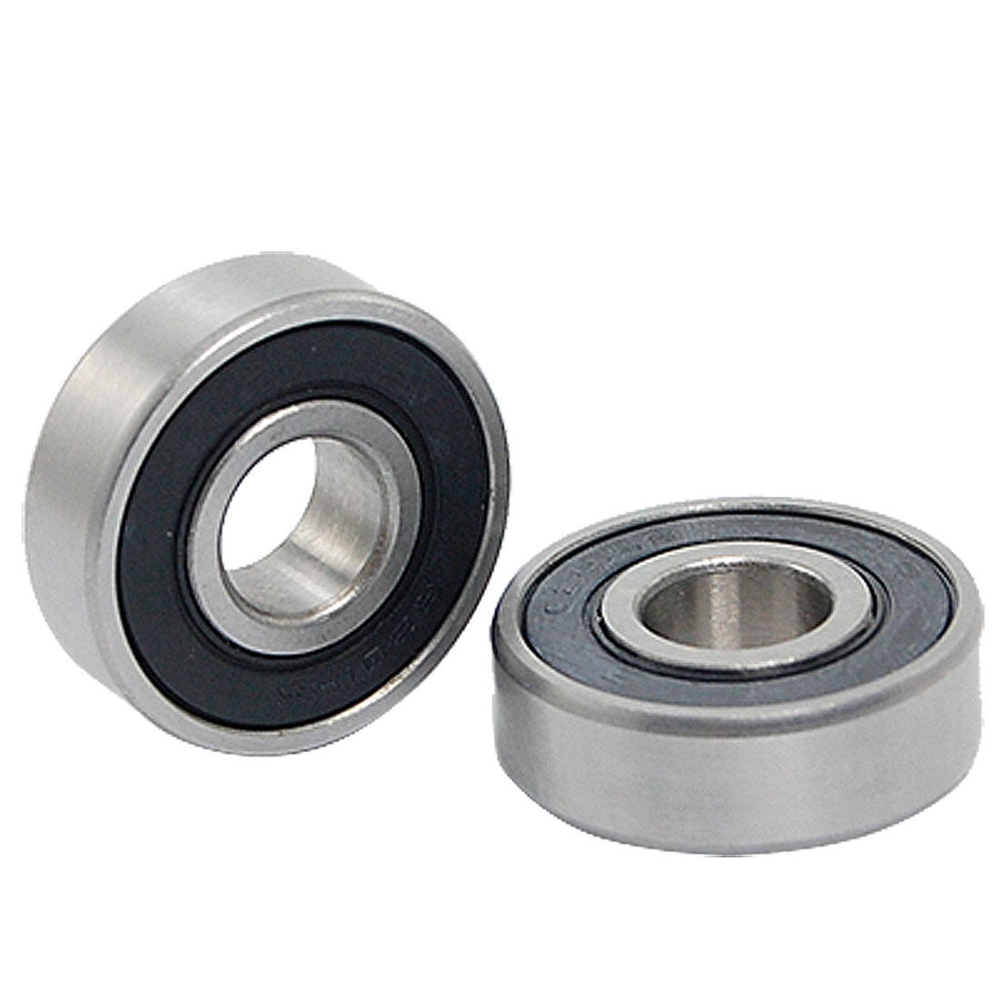 6202-2RS Deep Groove Ball Bearing Replacement 2 Pcs for Roller Sport