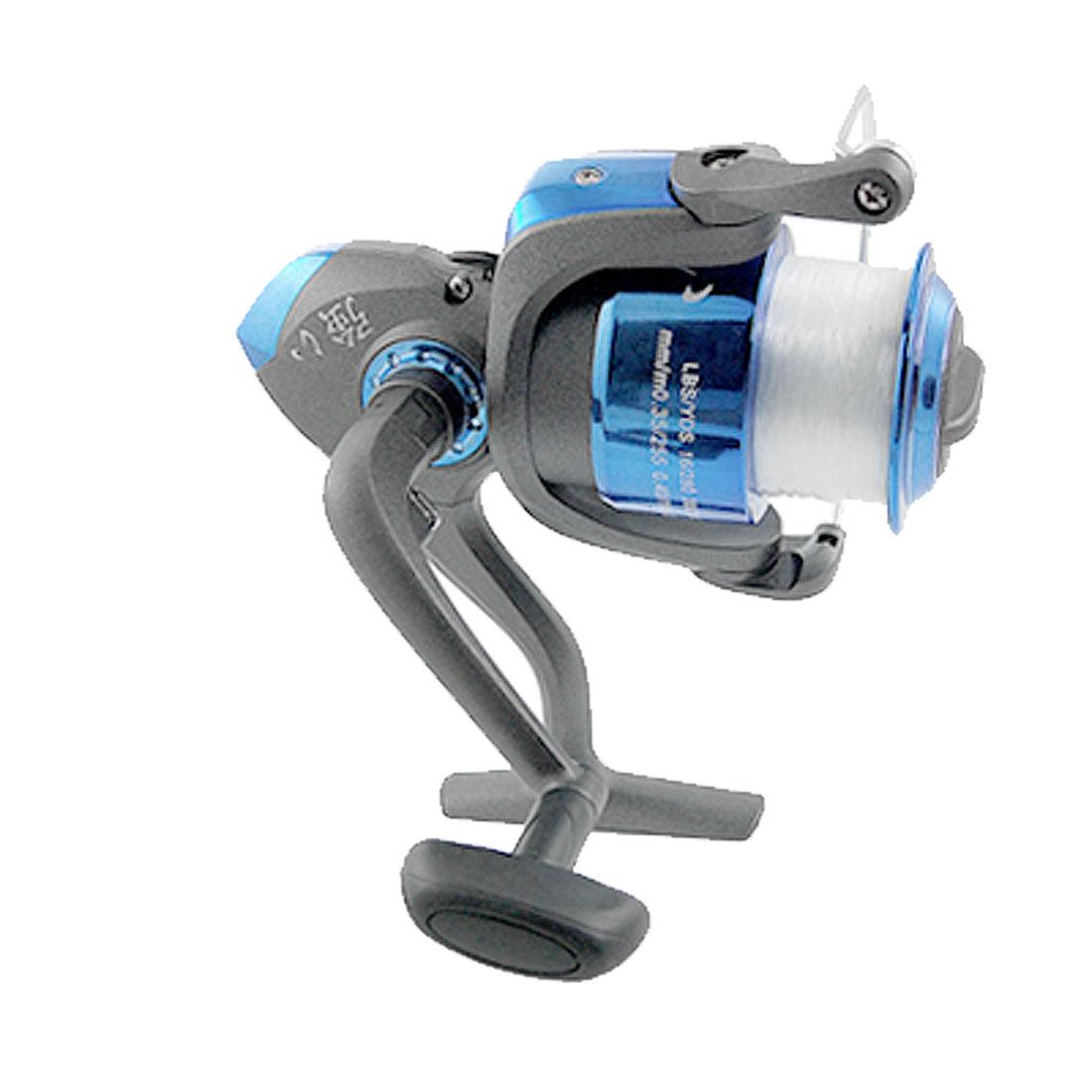 Fishing Plastic Metal 4.7:1 Gear Ratio 3 BB Spinning Reel Roller