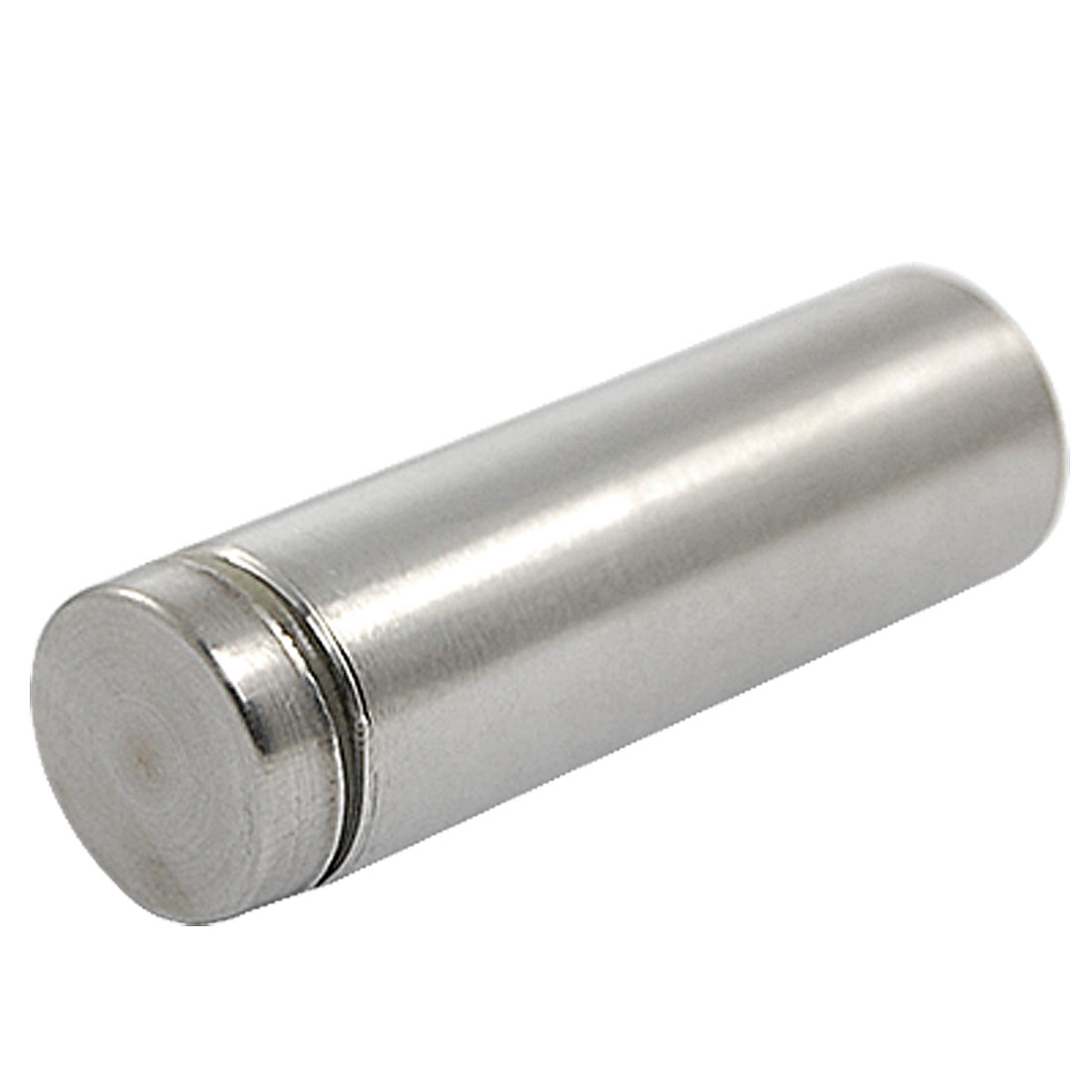 Silver Tone 19mm Diameter Advertisement Screw Nail Glass Standoff