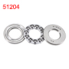 Single Direction Thrust Ball Bearing 51204 Machine Tool