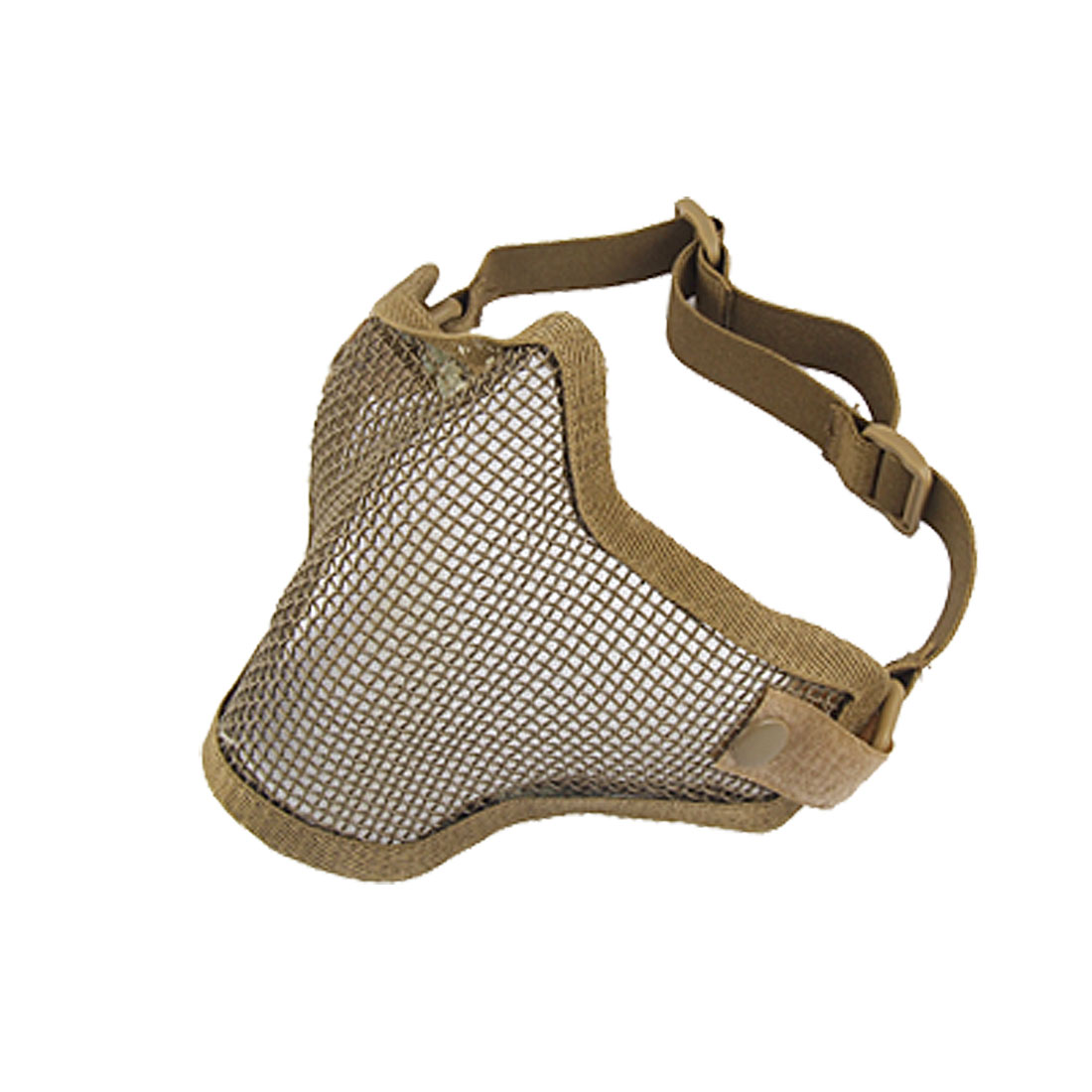 War Game Olive Green Elastic Band Protective Mesh Mask