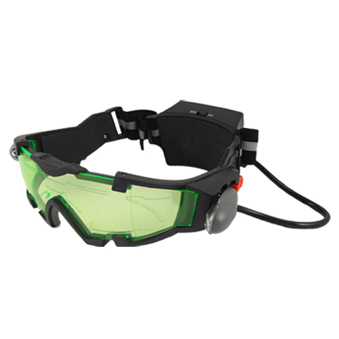 Children Blue LEDs Green Tinted Lens Goggles Toy