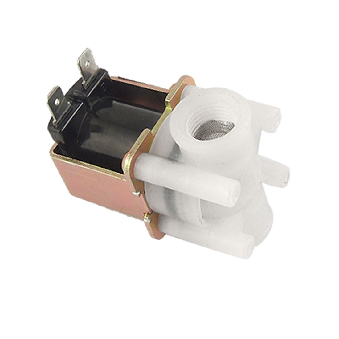 DC 24V Female Thread Water Flush Solenoid Valve