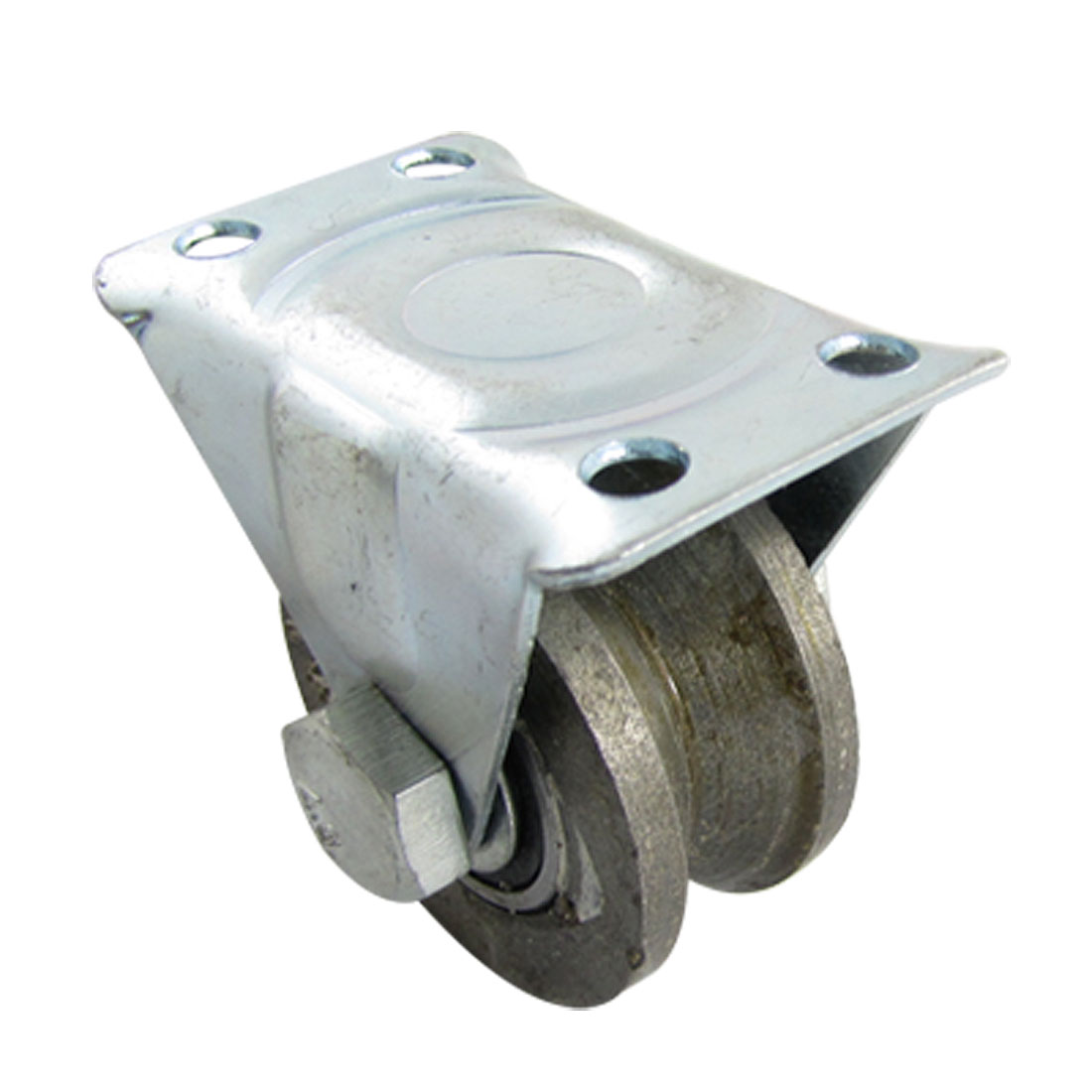 "Replacement Sliding Door Metal Fixed Type 1.9"" Diameter Roller"