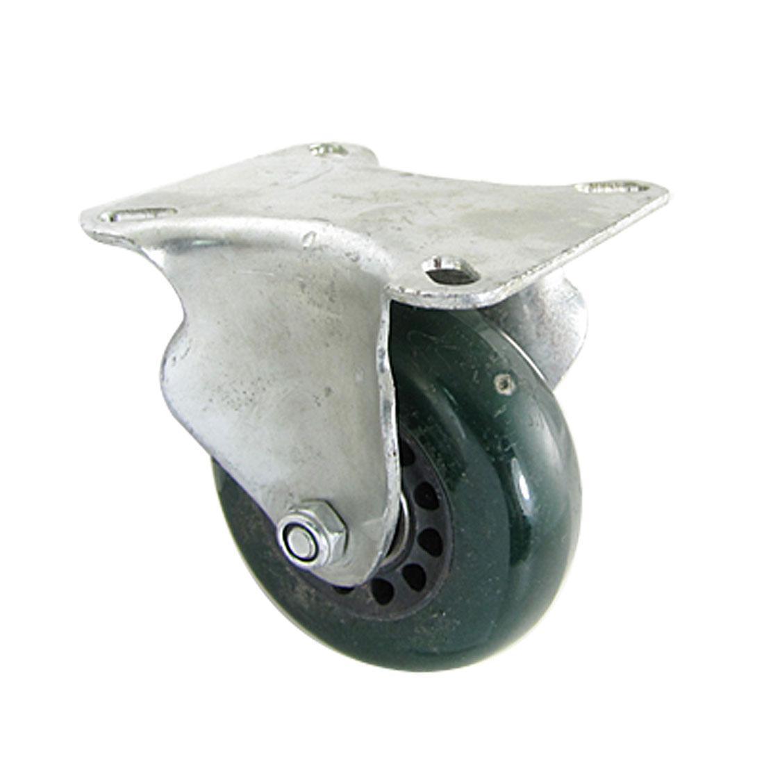 """2.5"""" Dia Light Duty Fixed Type White PP Caster Wheel"""