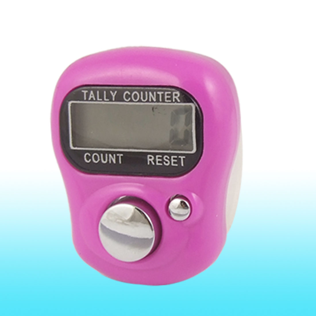 Adjustable Band Fuchsia Case Resettable Electronic Finger Counter
