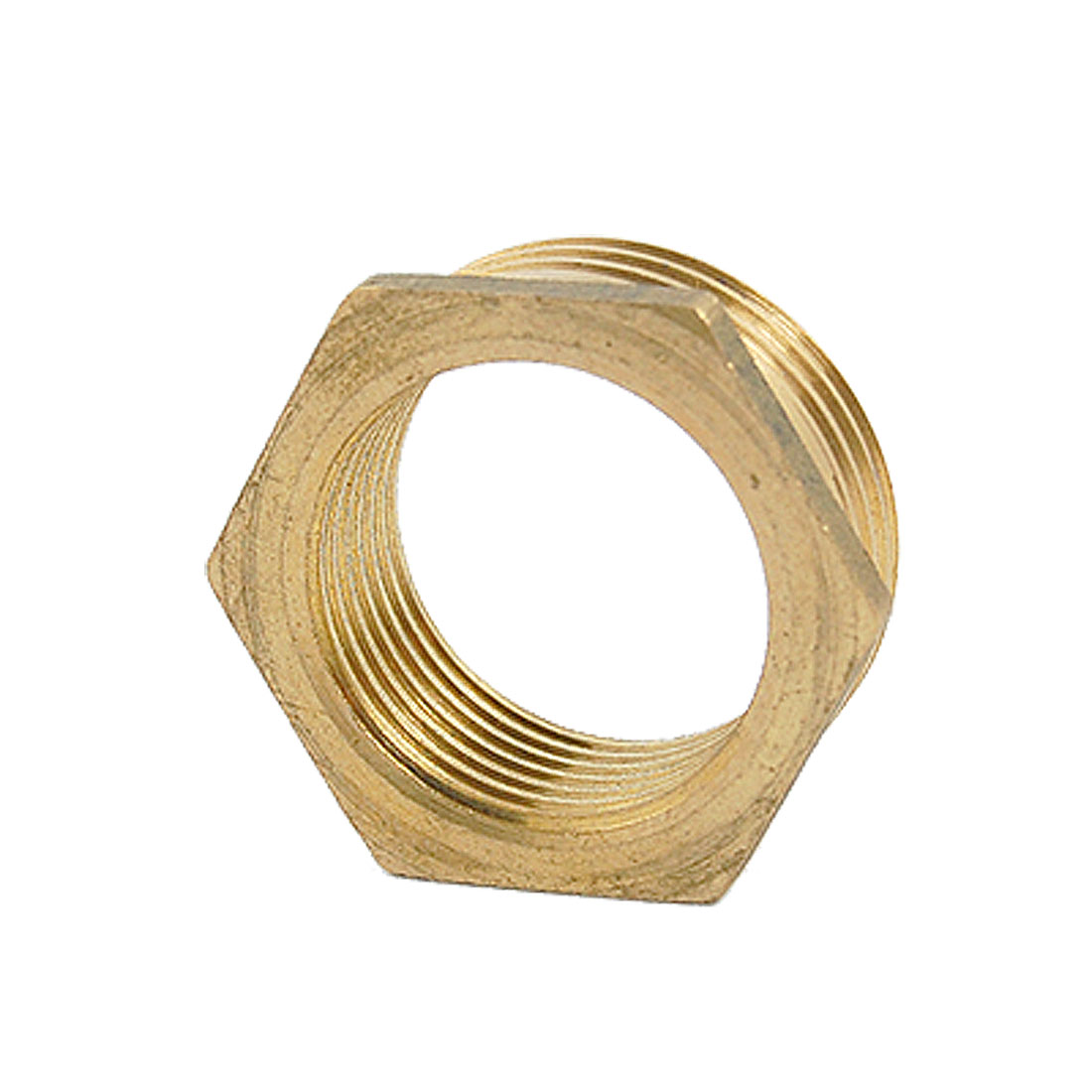 25 x 31.5mm M x F Brass Threaded Reducing Bushing Fitting