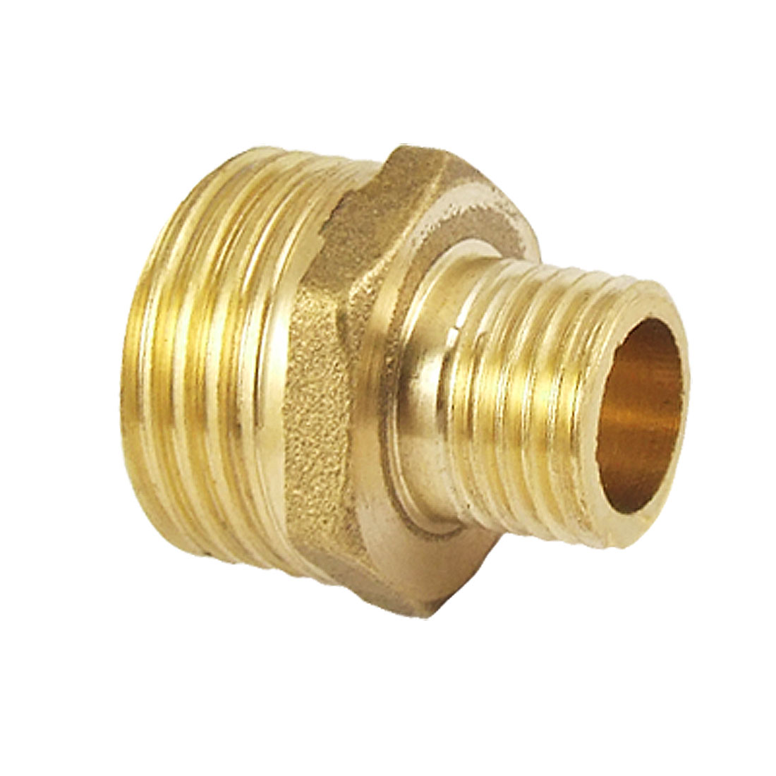 1/2PT x 1/4PT Male Thread Reducing Brass Pipe Nipple Fitting