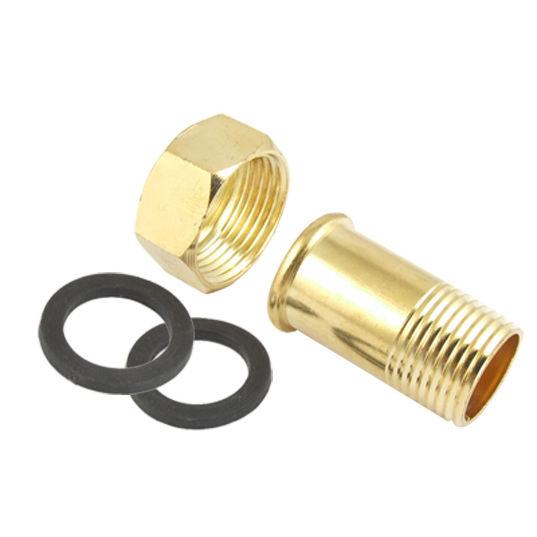 Plumbing Fitting 20 x 24.5mm M/F Thread Water Meter Connector