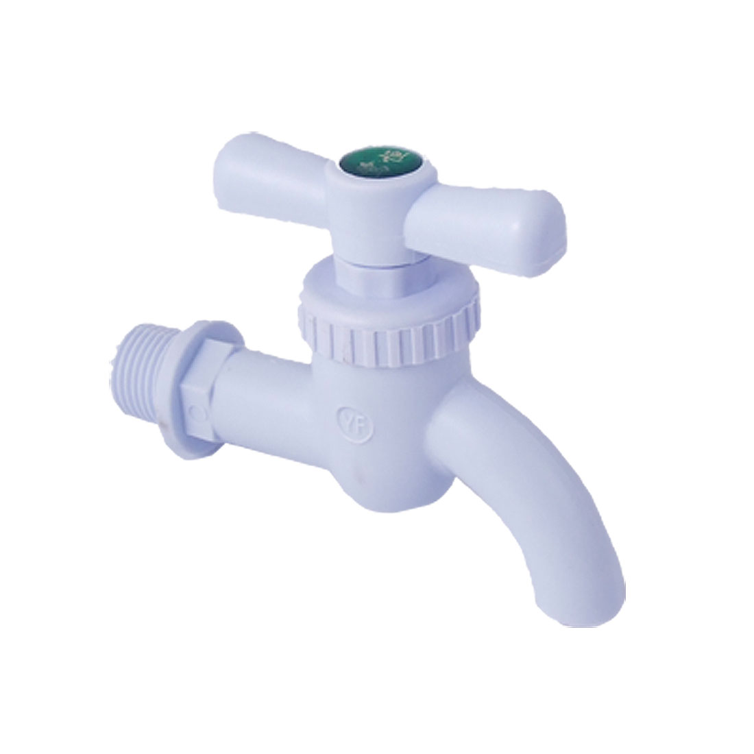 "Garden Kitchen 0.78"" Threaded Plastic Water Tap Faucet"
