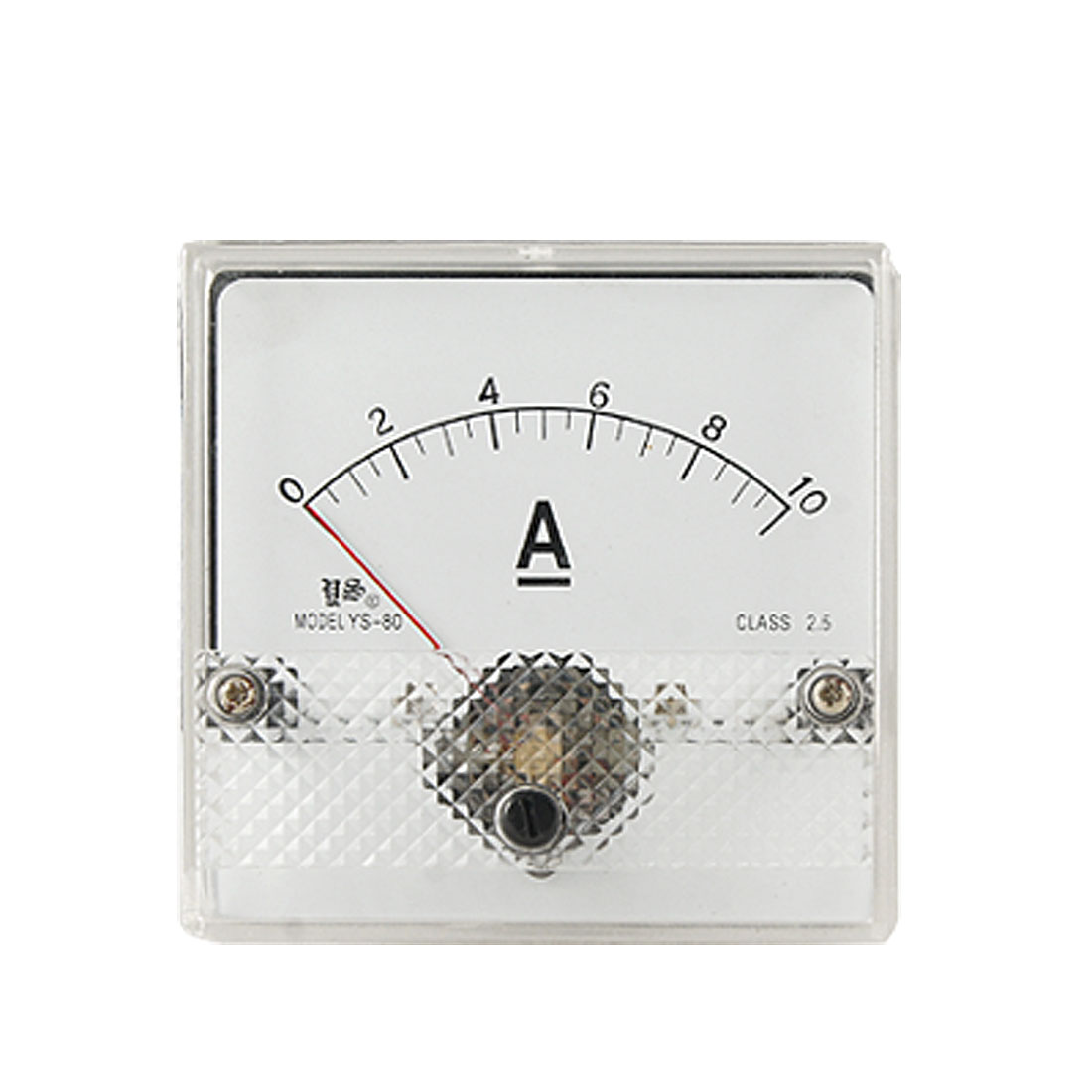 Class 2.5 Accuracy DC Current Panel Meter 0-10A Amperemeter YS-80