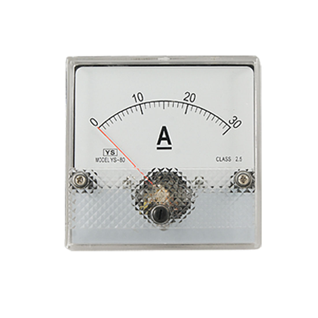 DC 0-30A Current Class 2.5 Accuracy Panel Meter Amperemeter YS-80