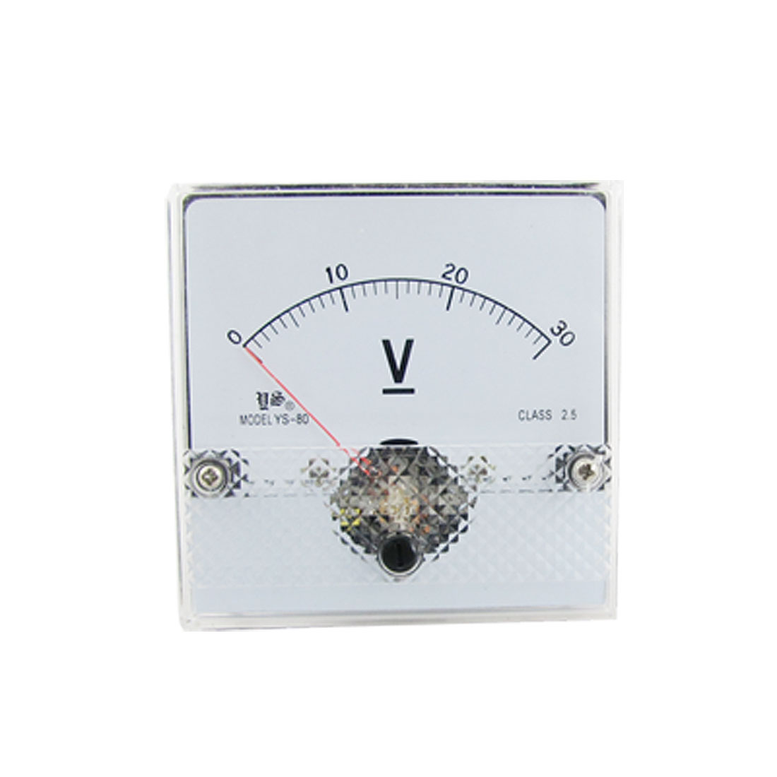 Class 2.5 Accuracy DC 0-30V Analog Voltage Panel Meter