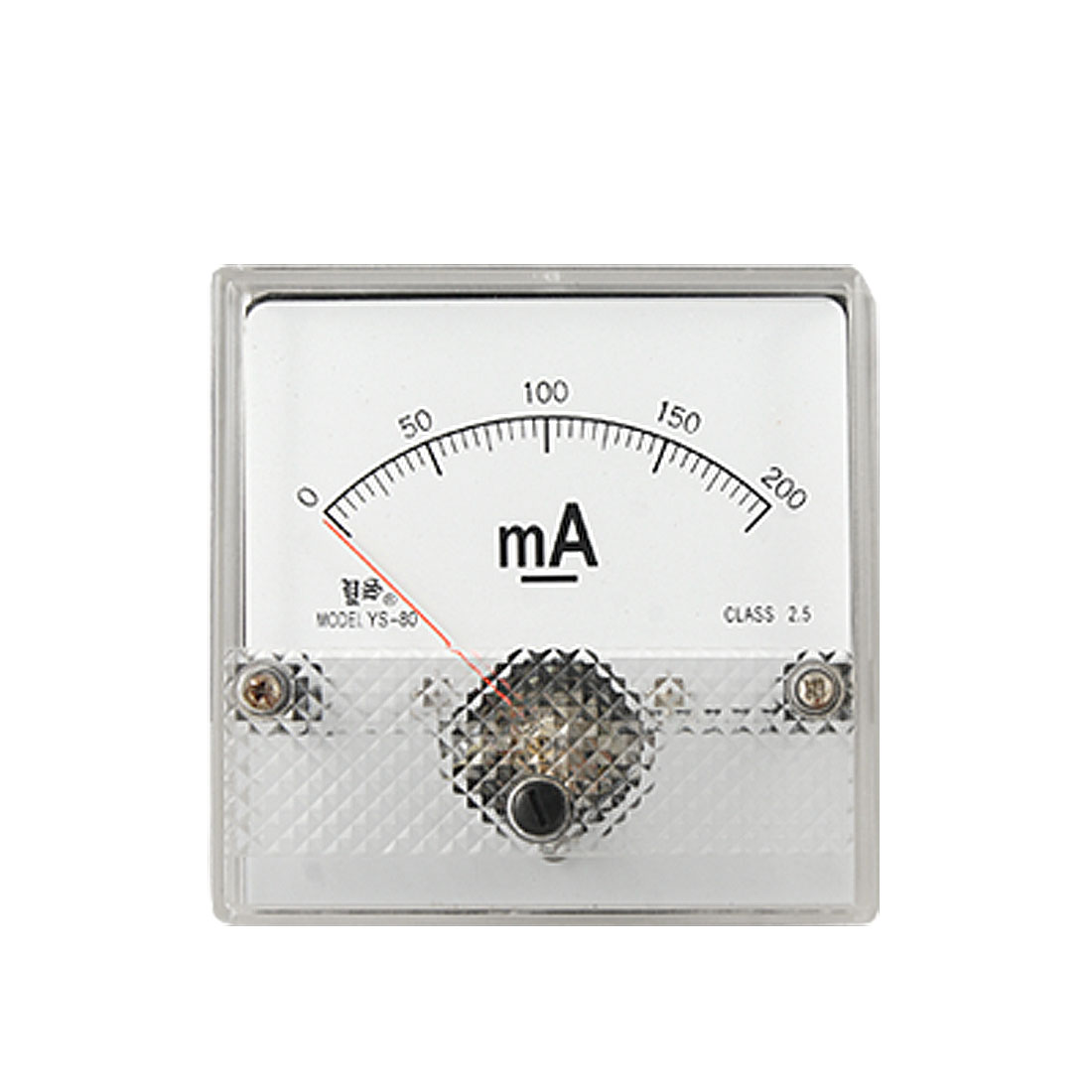 Class 2.5 Accuracy 0-200mA Scale DC Current Panel Meter Amperemeter YS-80