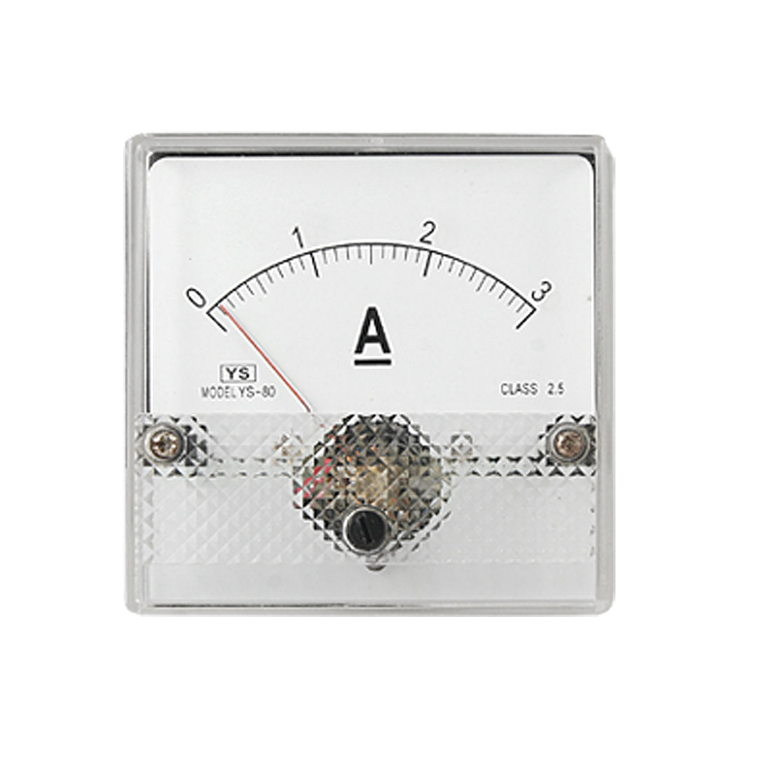 Analogue DC Current Panel Ammeter 0-3A Amperemeter Gauge YS-80