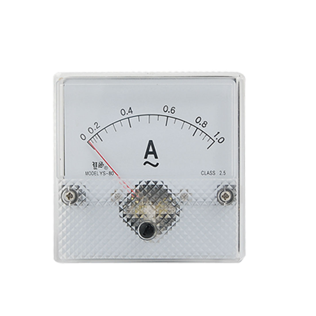 AC 0-1A Current Range Analog Panel Meter Ammeter YS-80