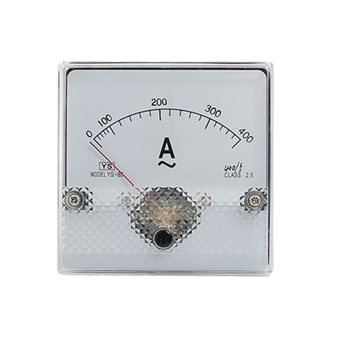 AC 0-400A Plastic Housed Analog Panel Meter Ammeter YS-80