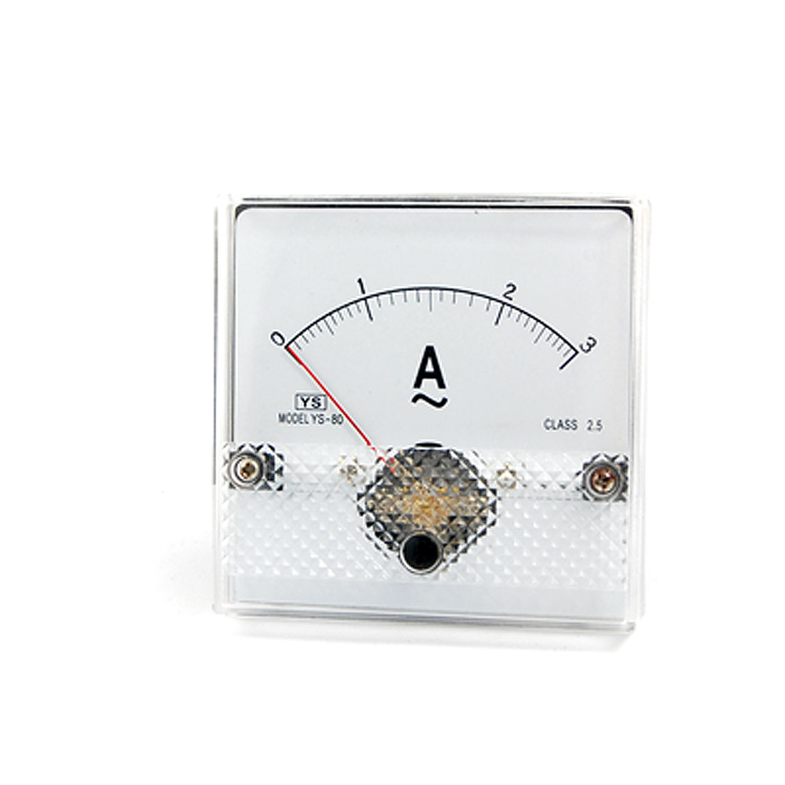 AC 0-3A Plastic Housed Analog Panel Meter Ammeter YS-80