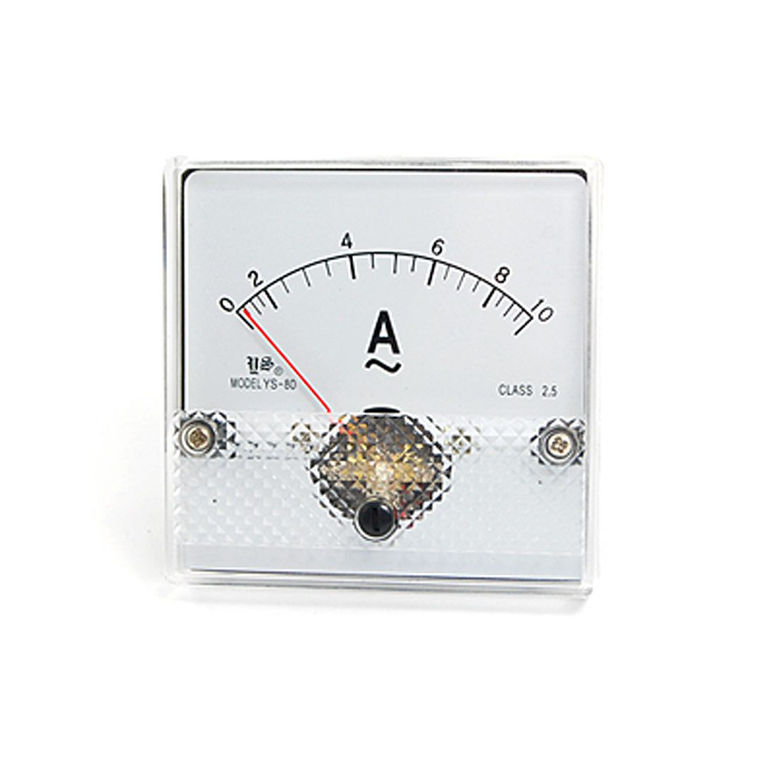 AC 0-10A Current Range Analog Panel Meter Ammeter YS-80