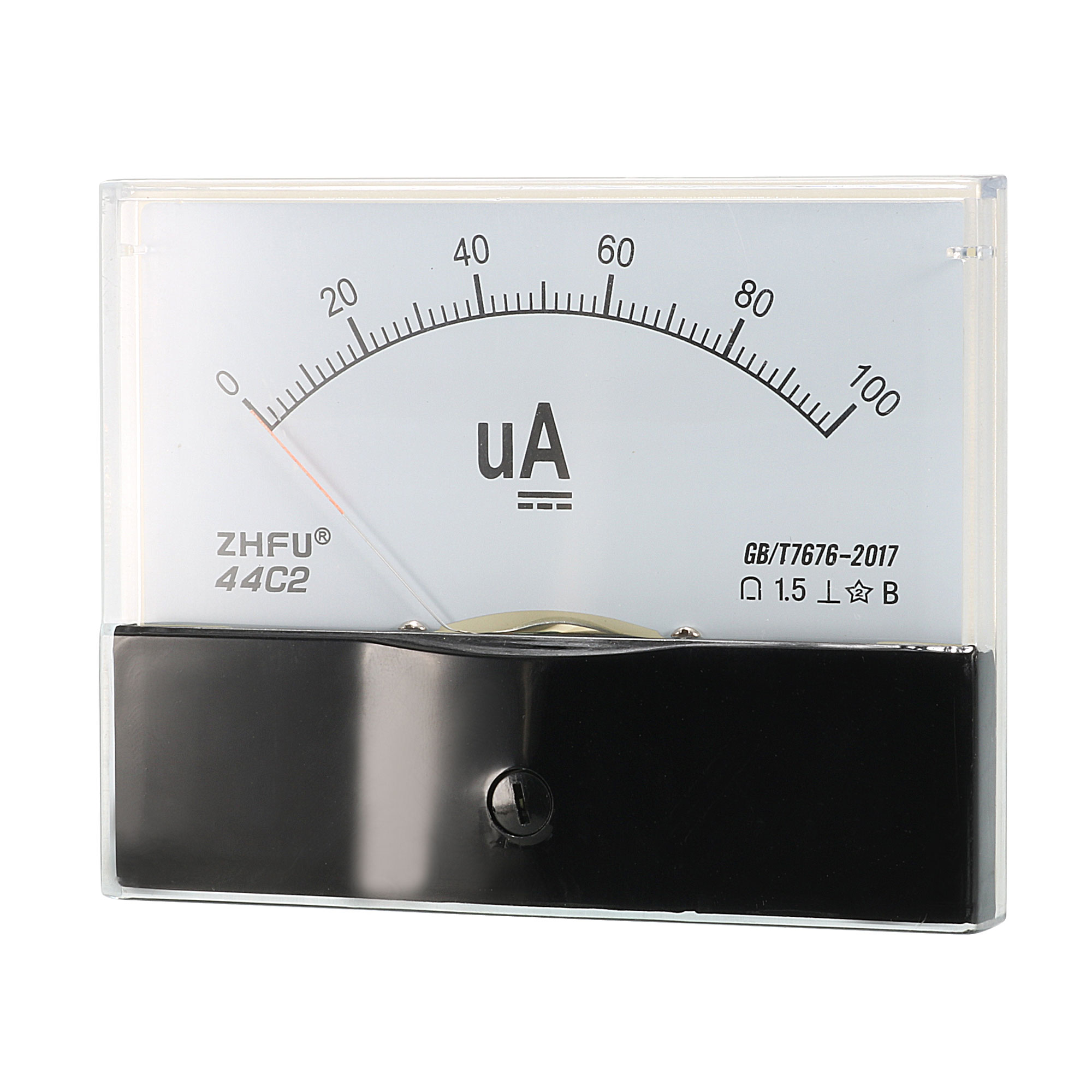 DC 0-100uA Current Analog Panel Meter Amperemeter Gauge Class 1.5