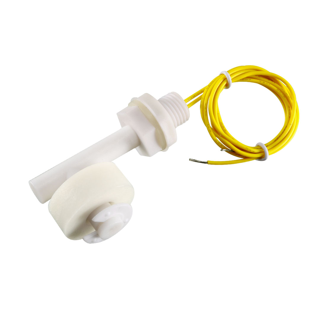 Aquarium Tank Water Level Sensor White PP Right Angle Float Switch