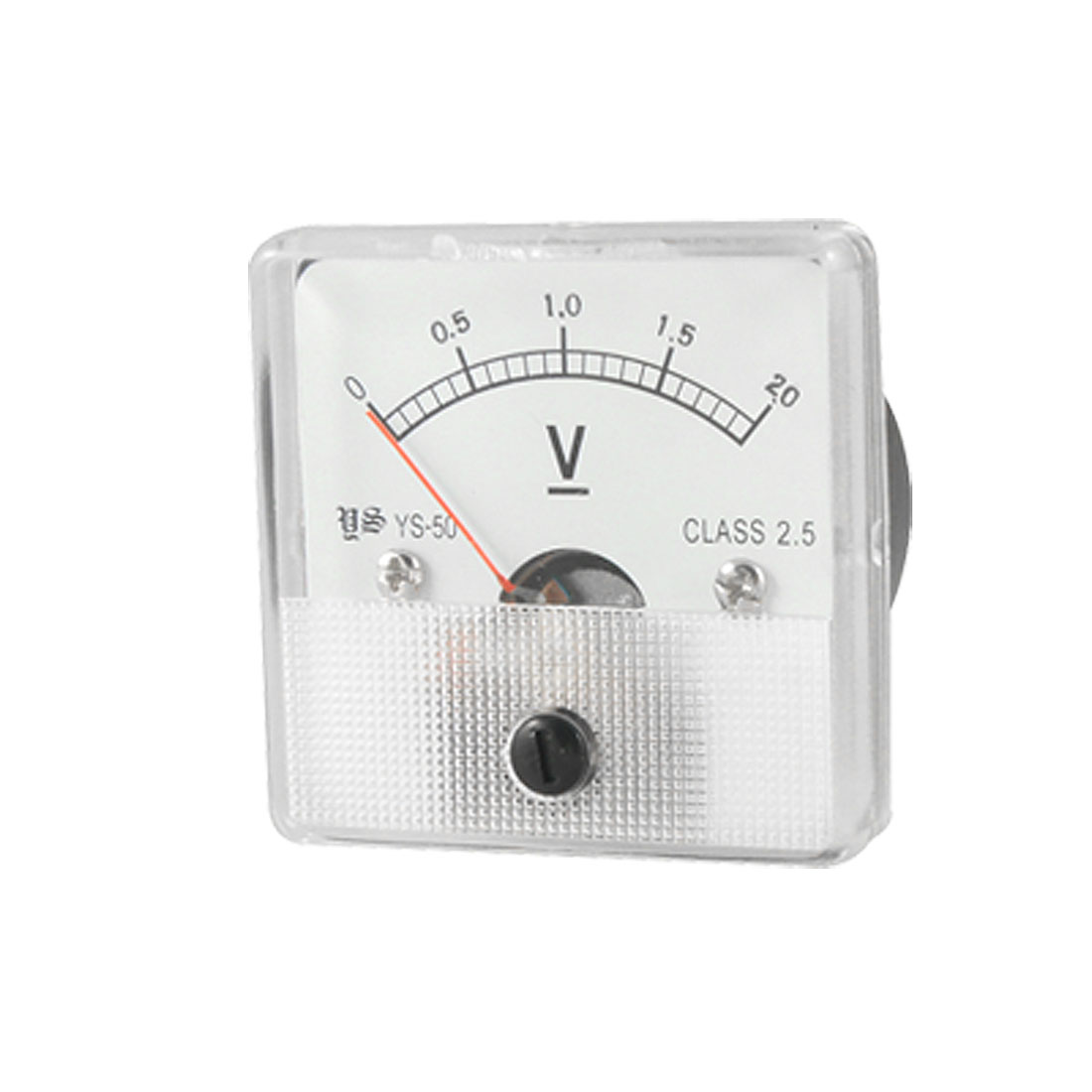 Class 2.5 Analog Voltage Panel Meter Voltmeter DC 0-2V