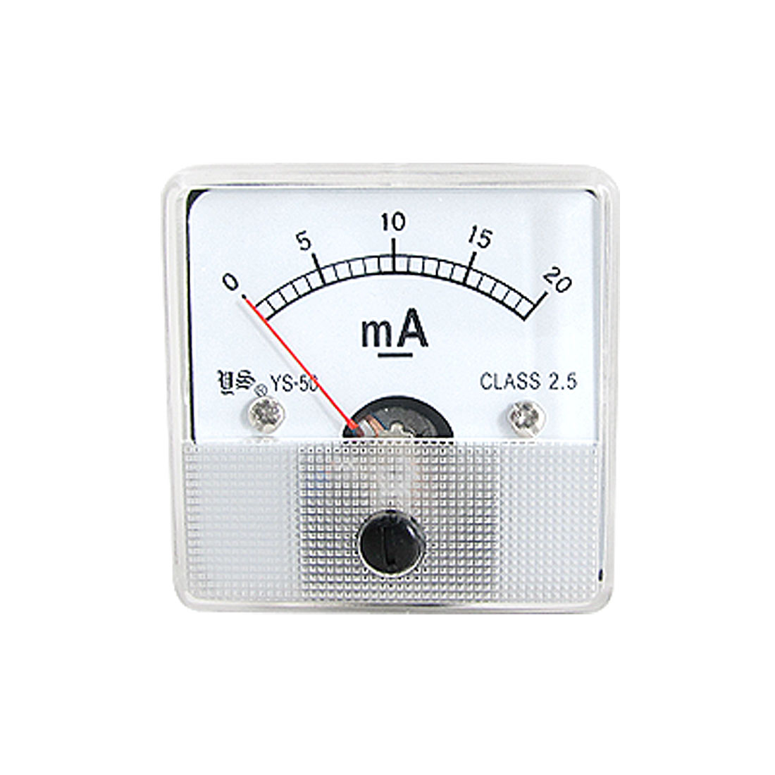 Class 2.5 Accuracy DC 0-20mA Analog Panel Meter Ammeter