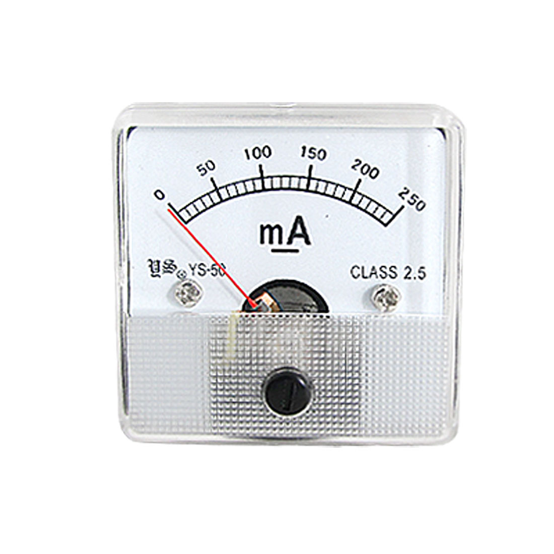 Class 2.5 DC 0-250mA Analog Amperemeter Measuring Head