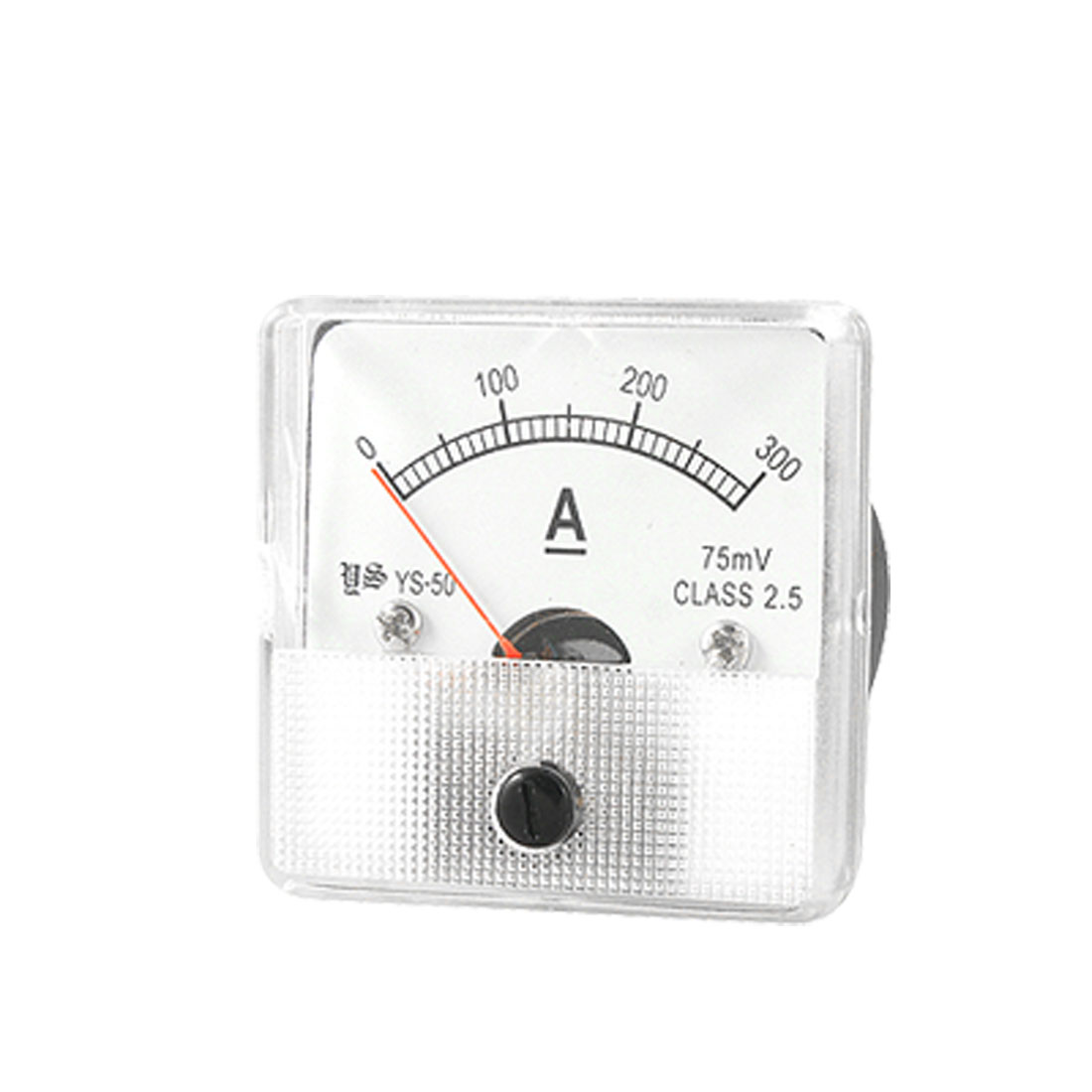 YS-50 Analog Current Panel Meter DC 0-300A Ammeter