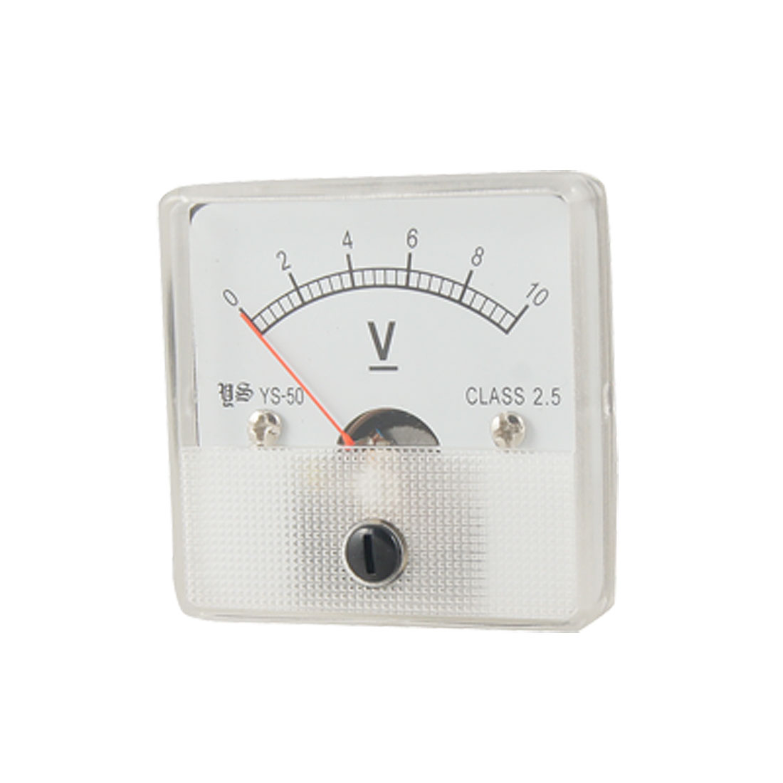 DC 0-10V Voltmeter Voltage Panel Meter w Installing Parts