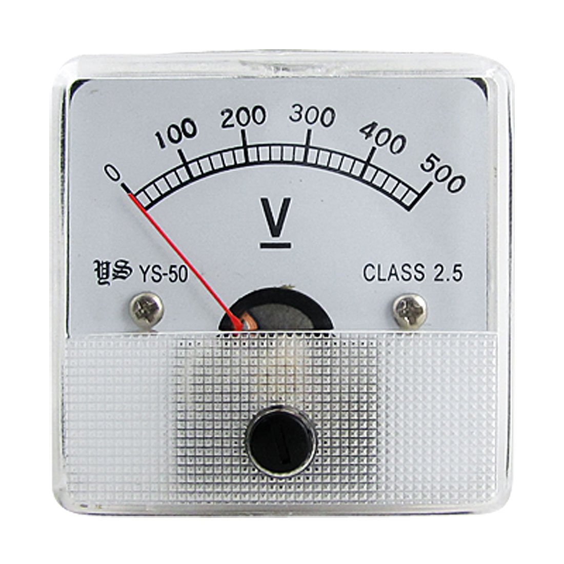 Square Type Voltmeter Gauge Volt Measuring Panel Meter