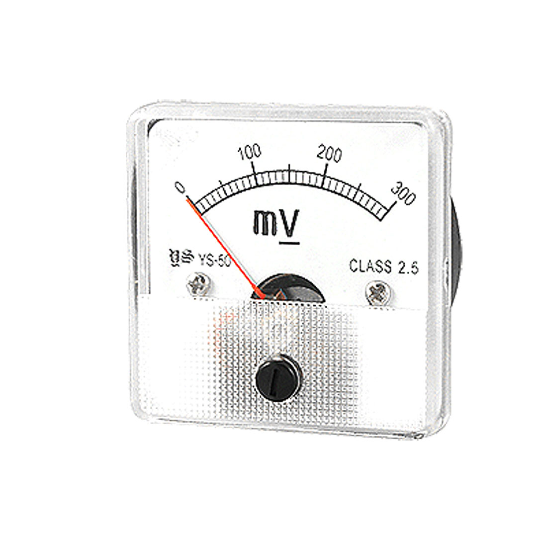 DC 0-300mV Fine Tuning Dial Voltmeter Voltage Panel Meter