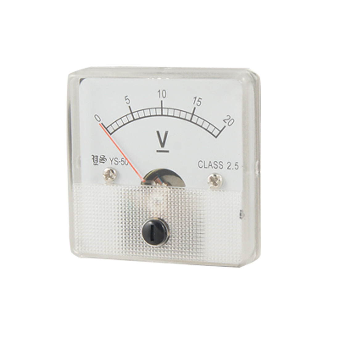 DC 0-20V Fine Tuning Dial Voltmeter Voltage Panel Meter