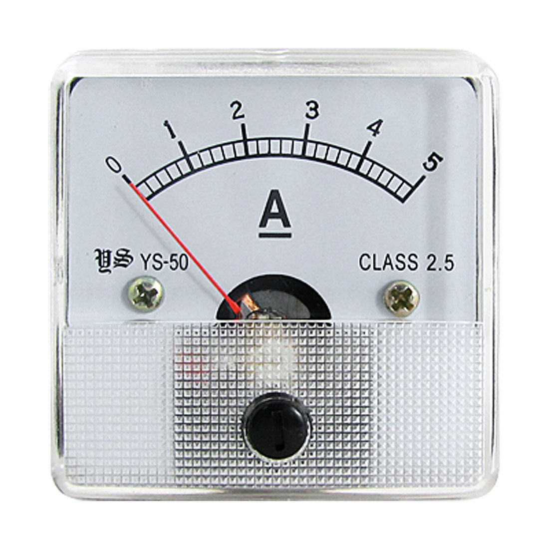 Class 2.5 DC 0-5A Analog Ampere Meter Current Measuring Head
