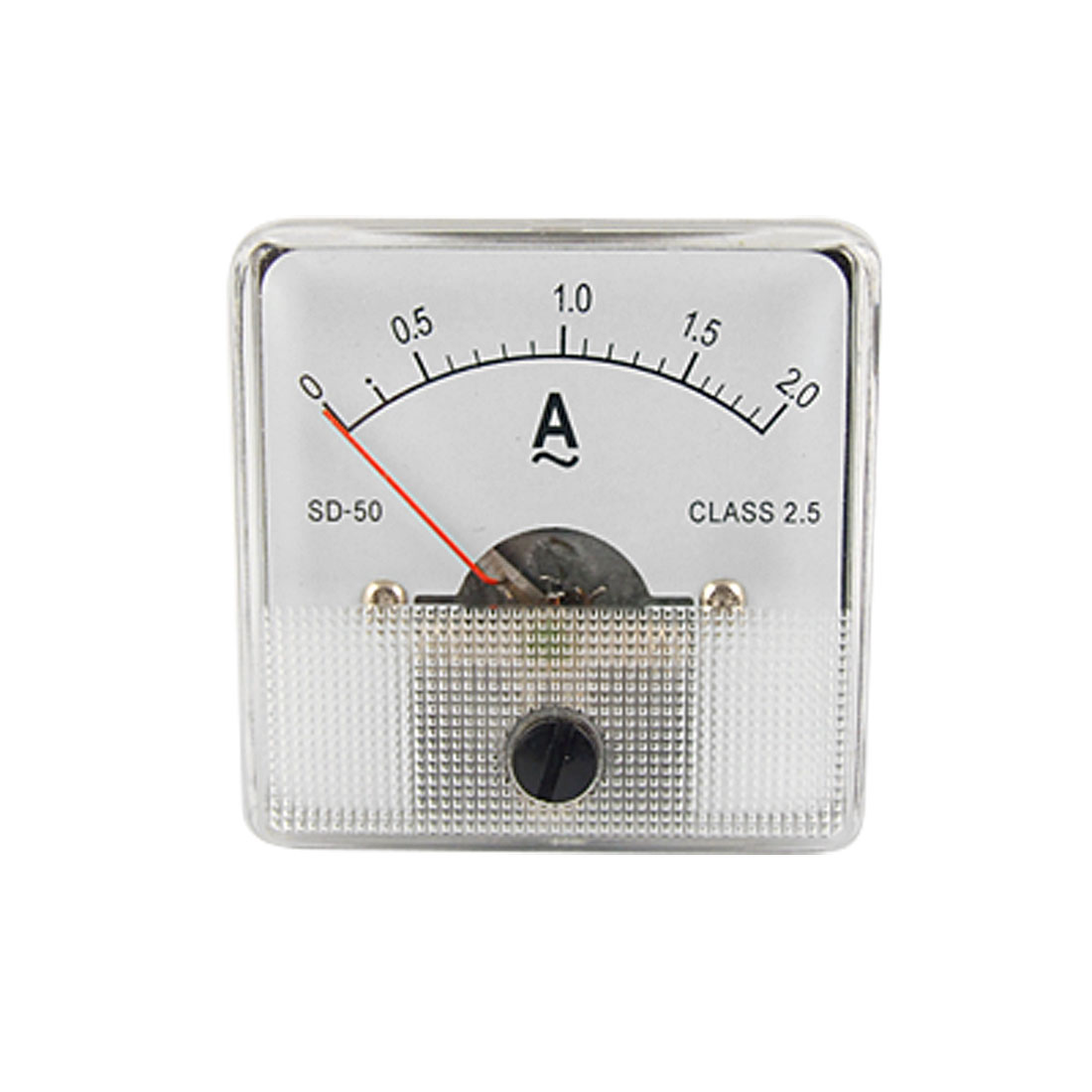 SD-50 AC 0-2A Analog Miniature Current Meter Gauge Ammeter