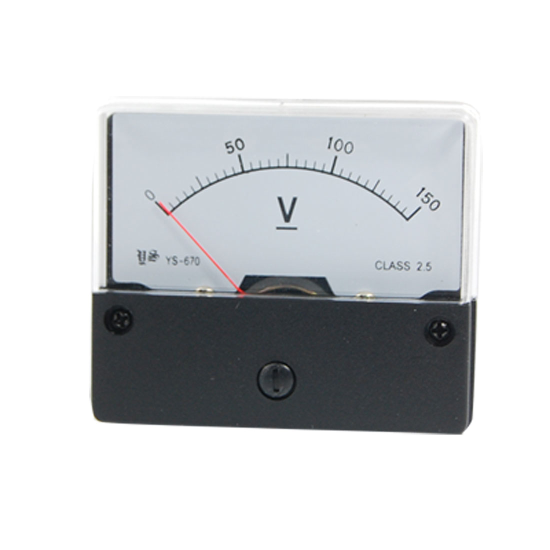 Class 2.5 Accuracy DC 0-150V Analog Volt Panel Meter Gauge