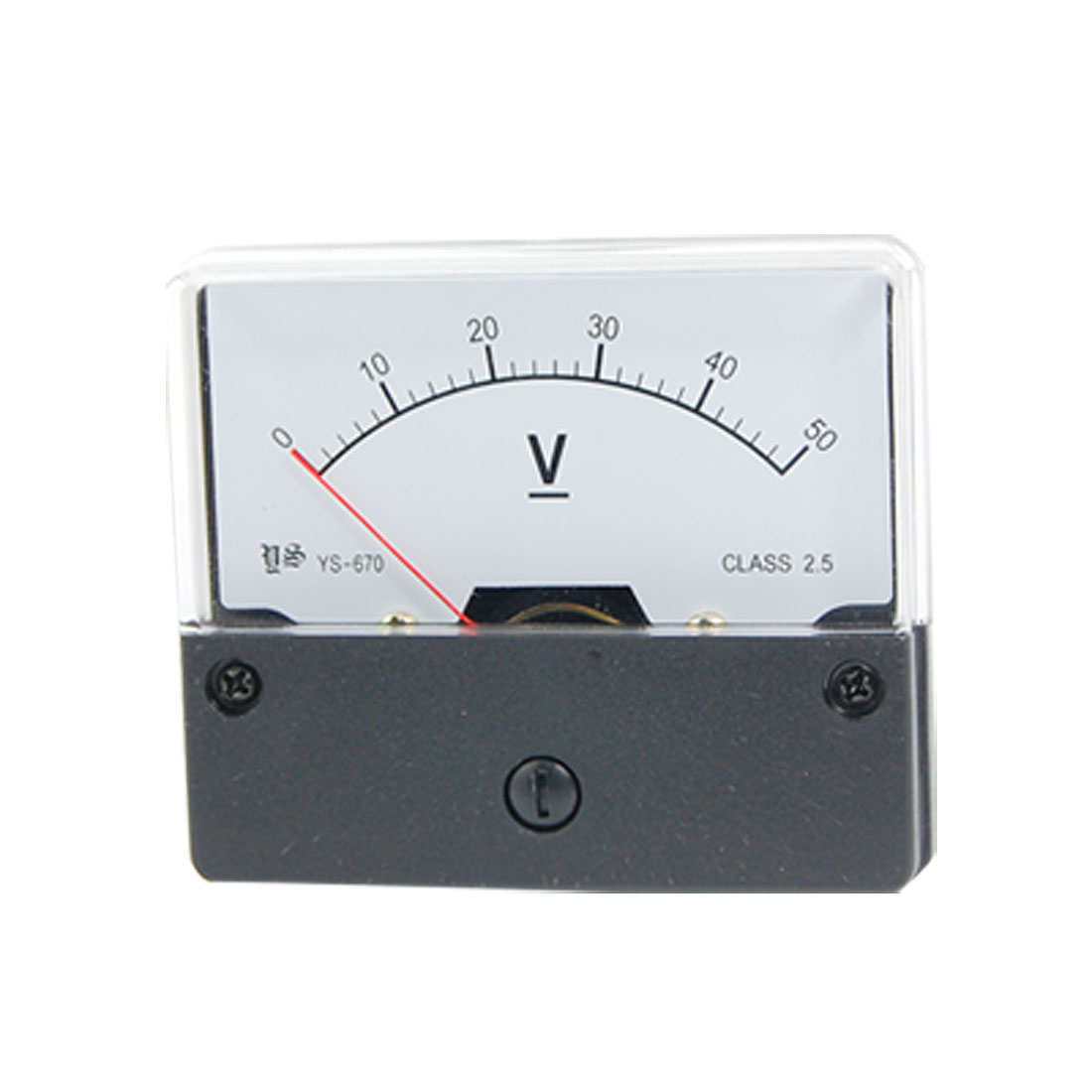 Fine Adjustable Dial Panel Meter Voltmeter DC 0-50V YS-670