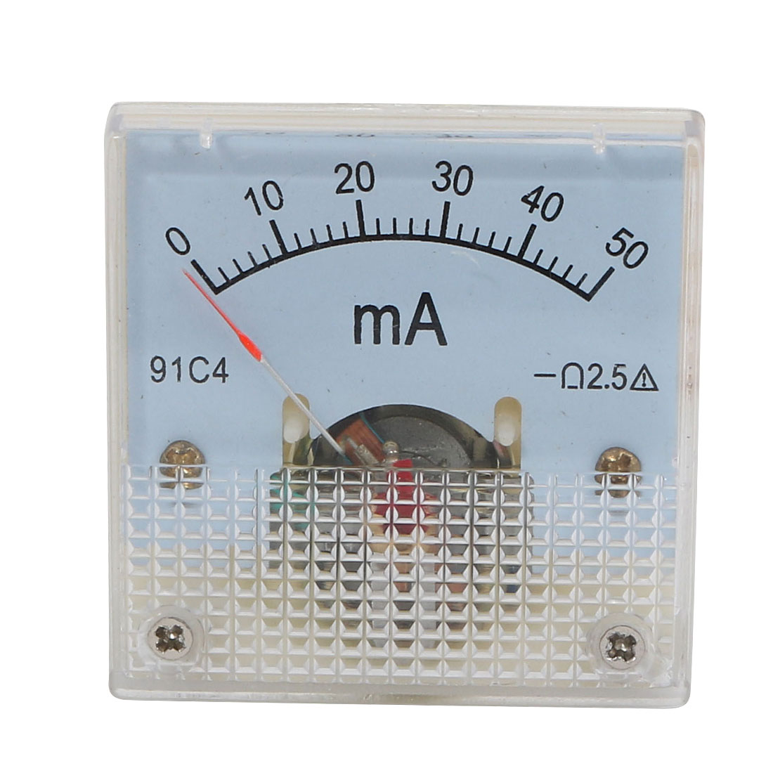 Panel Mounting DC 0-50mA Analog Current Meter Ammeter 91C4