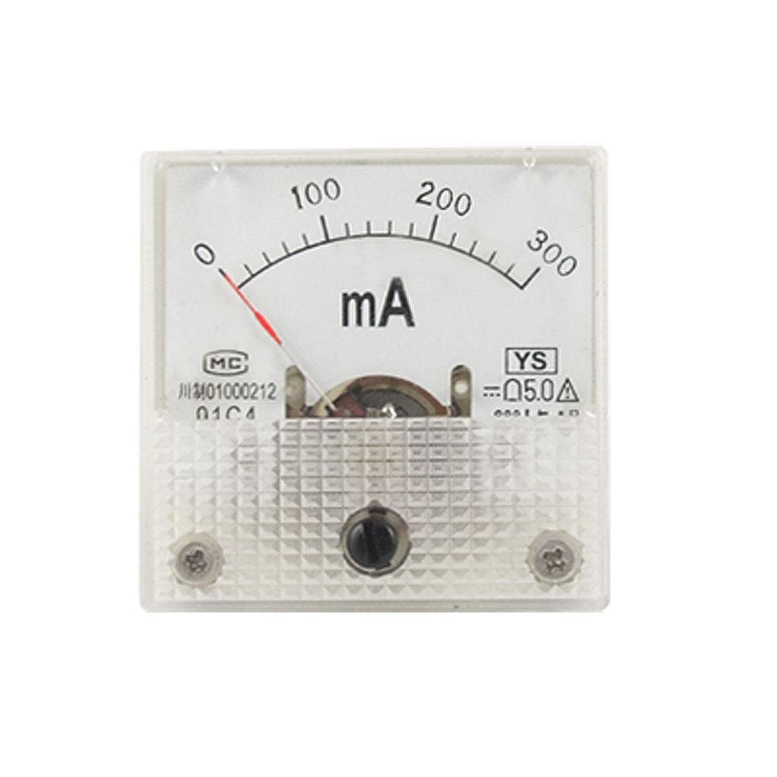 Measuring DC 0-300mA Analog Current Meter Ammeter 91C4