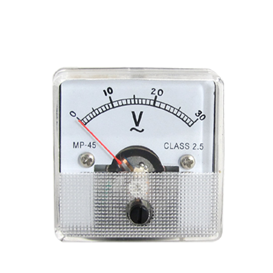 Plastic Housing AC 30V Analog Voltage Panel Voltmeter