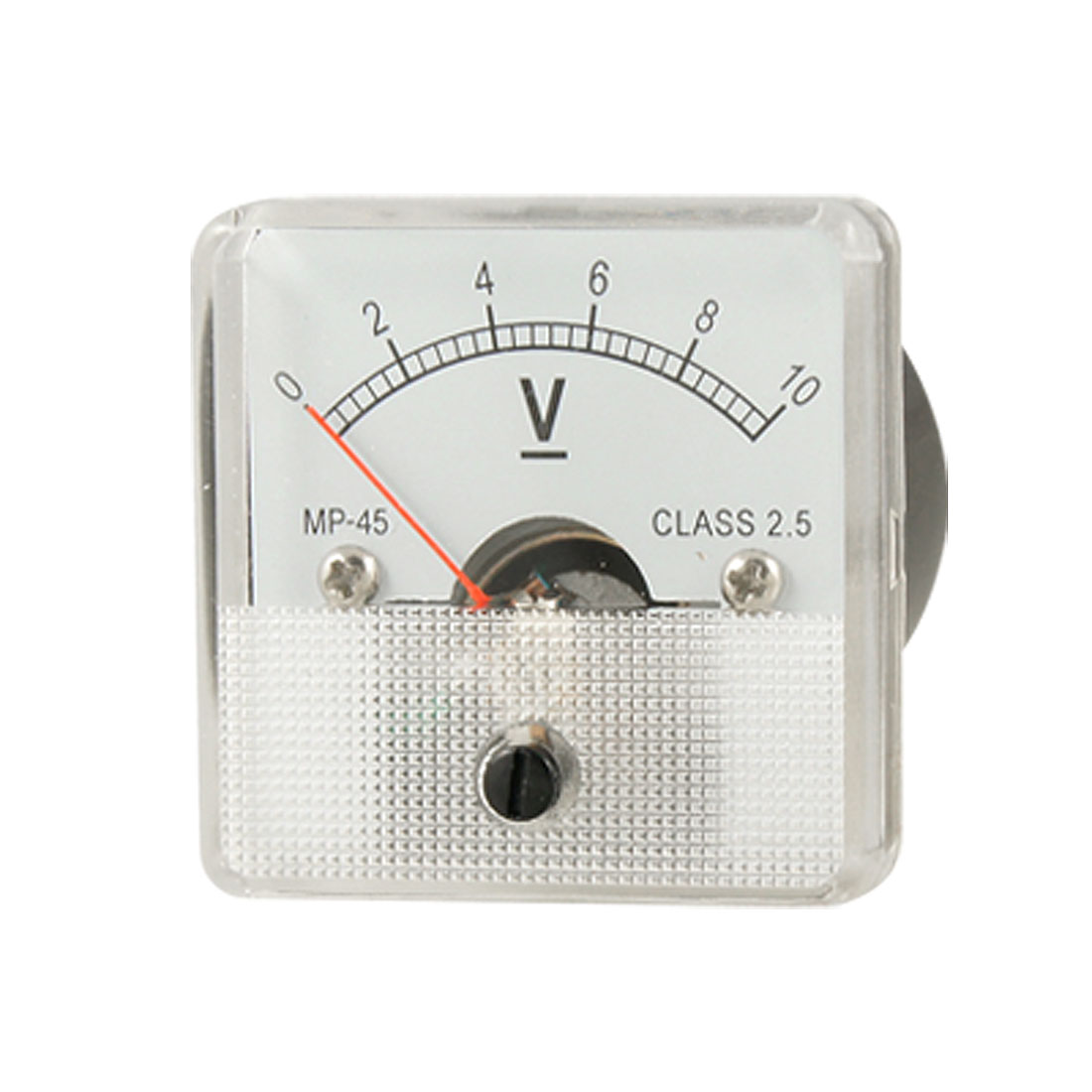 DC 0-10V Voltmeter Class 2.5 Analog Voltage Panel Meter
