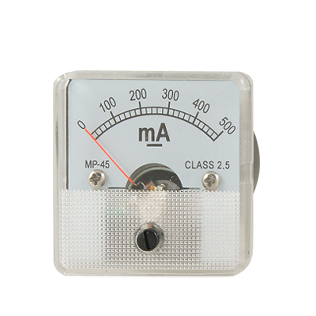 Analog Current Panel Meter DC 500 Milliampere Ammeter