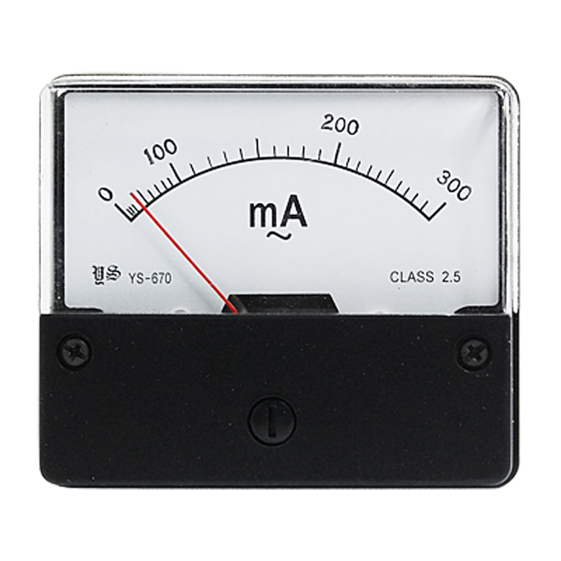 Panel Mount AC 300mA Current Amperemeter Measuring Tool