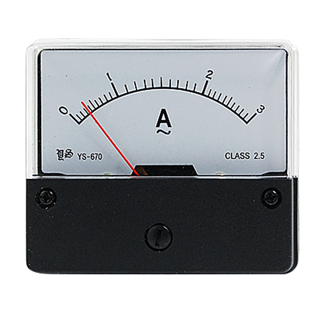 AC 0-3A Current Range Analog Panel Meter Ammeter YS-670