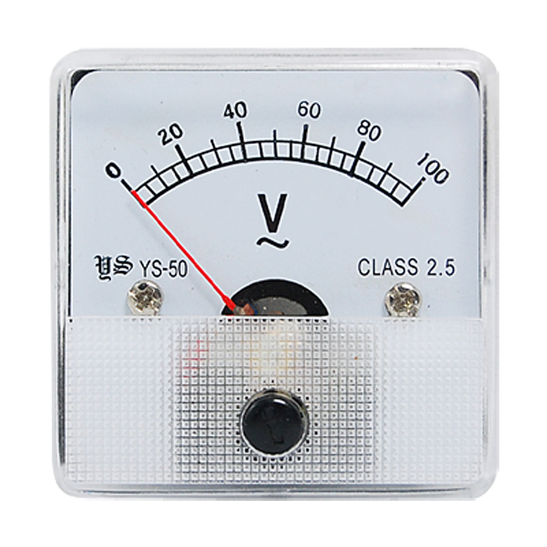 Class 2.5 Accuracy AC 0-100V Voltage Volt Panel Meter
