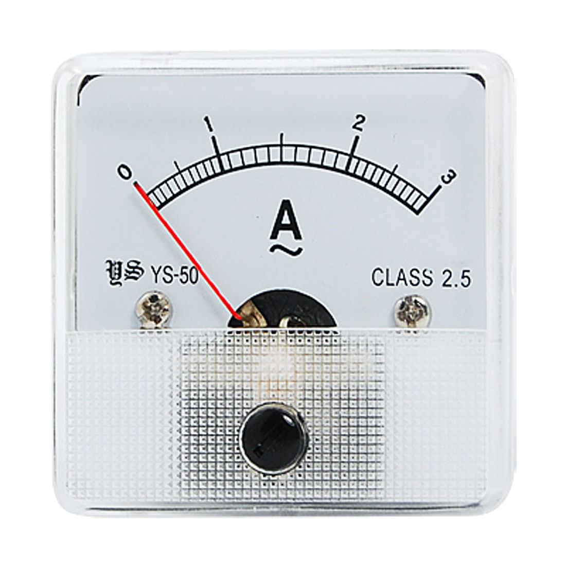AC 0-3A Class 2.5 Accuracy Analog Amperemeter Panel Meter Gauge